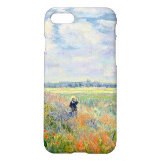 Poppy Fields near Argenteuil by Claude Monet iPhone 8/7 Case