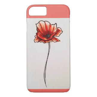 Poppy Flower phone case