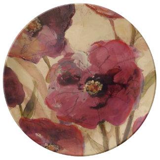 poppy Garden Plate