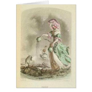 Poppy Girl Card