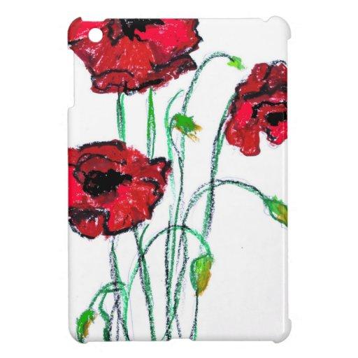 poppy cover for the iPad mini