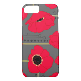 Poppy iPhone 7 Case