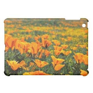Poppy macro flowers iPad mini cover