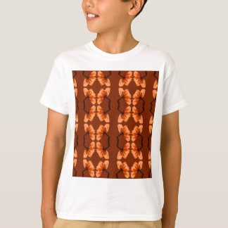 poppy pattern T-Shirt