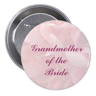 Poppy Petals Grandmother of the Bride Pin