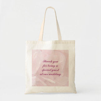 Poppy Petals Wedding Favor Budget Tote Bag