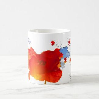 Poppy puzzle mugs