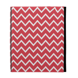 Poppy Red Chevron iPad Case