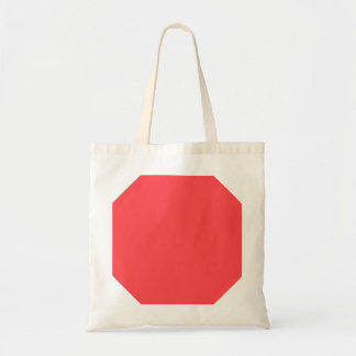 Poppy Red Fashion Color Trending Canvas Bag