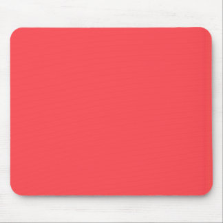 Poppy Red Fashion Color Trending Mouse Pad