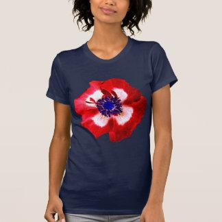 Poppy Red White Blue t-shirt navy