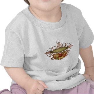 Poppy Scroll Banner T-shirt