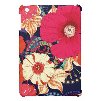 Poppy seamless pattern iPad mini cover