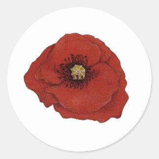 Poppy Stickers