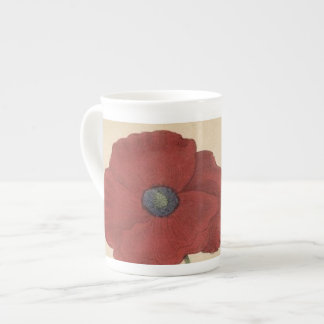 Poppy Tea Cup