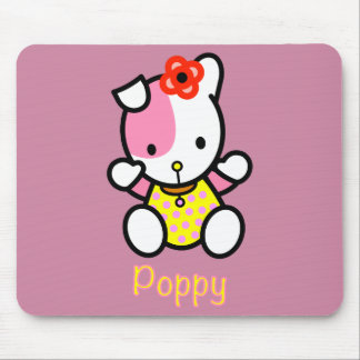 'POPPY' the puppy mousepad. Mouse Pad