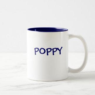 POPPY Two-Tone COFFEE MUG