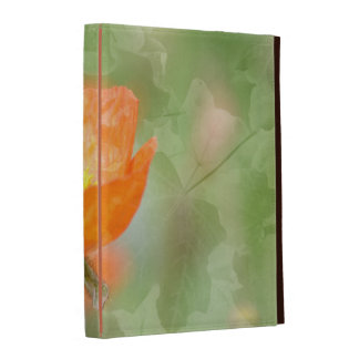 Poppy with Leaves iPad Cases