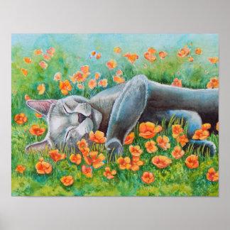 Poppy's Poppies Poster