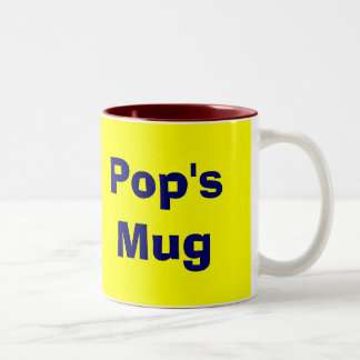 Pops Diner Retro Custom Coffee Mug
