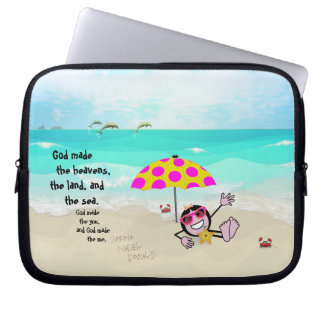"""Pops' Peeps """"The You & The Me"""" Laptop Computer Sleeves"""