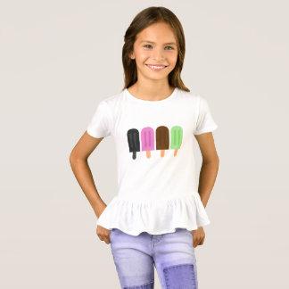 Popsicle Girls' Ruffle T-Shirt