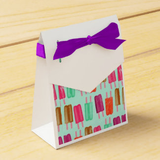 Popsicle Party Favor Box