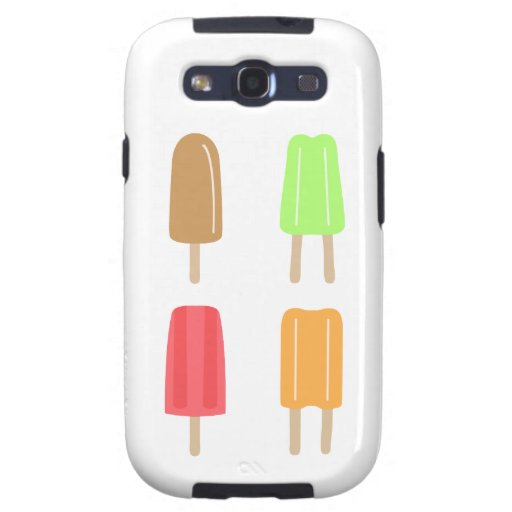 Popsicle Samsung Galaxy S3 Cover