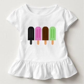 Popsicle Toddler Ruffle Tee