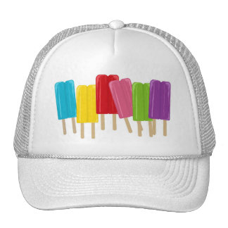 Popsicles and Polka Dots Cap