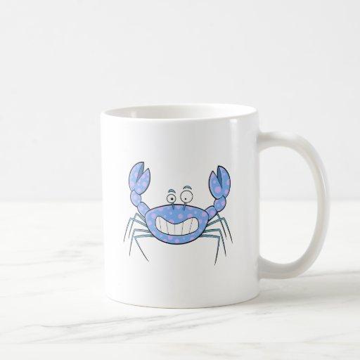 Popular Blue Crabby Crab Unique Cute Gift Present Mug