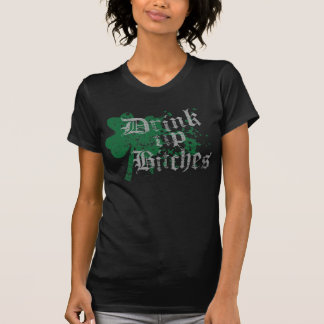 Popular 'Drink Up Bitches' St Patricks Day T Shirts