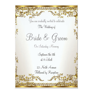 Popular Elegant   Wedding Invitation