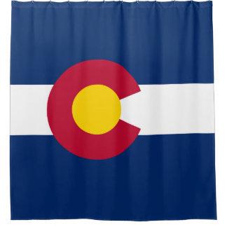 Popular Flag of Colorado Shower Curtain