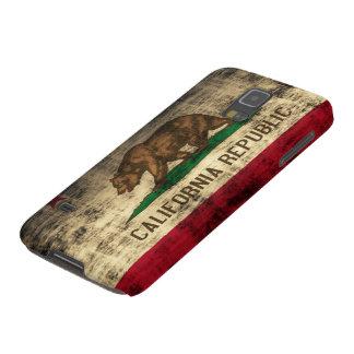 Popular Grunge California Republic Flag Galaxy S5 Case