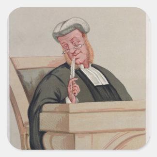 Popular Judgement Square Sticker