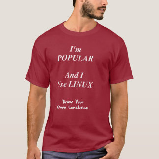 Popular Linux User T-Shirt