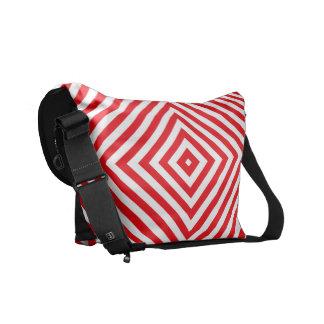 Popular Red Colors Black Rickshaw Bag Courier Bags