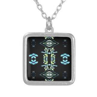 Popular Turquoise Lemon Colors Silver Plated Necklace