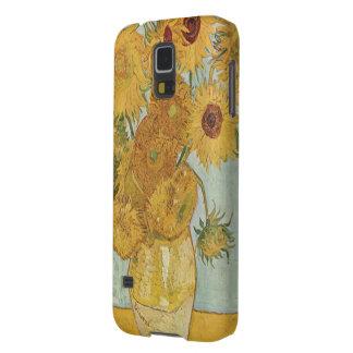 Popular Van Gogh Sunflowers Print Case For Galaxy S5