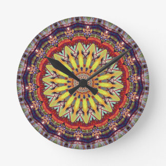Popular Vibrant Mandala Pattern Wallclock