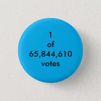Popular Vote 3 Cm Round Badge