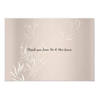 Popular Wedding Thank You Card
