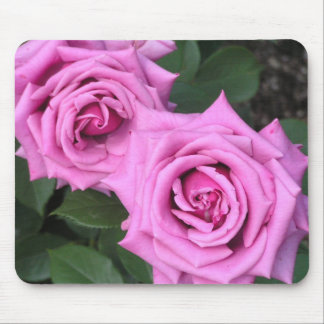 Popularity kind of rose mouse pad of purple cloud