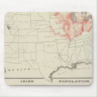 Population United States census Mousepads