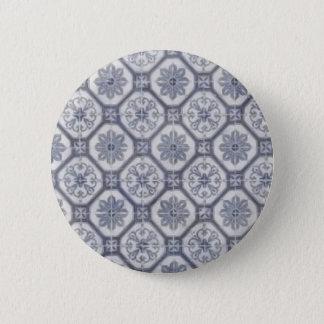 porcelain 6 cm round badge