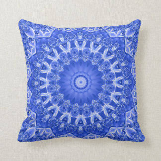 """Porcelain Blue"" American MoJo Pillows"