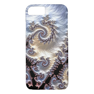 Porcelain Fractal Spirals iPhone 8/7 Case