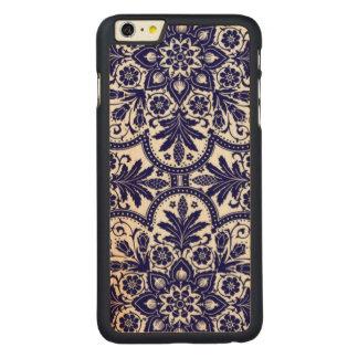 Porcelain Mandela Carved Maple iPhone 6 Plus Case