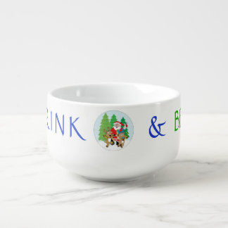 """Porcelain Mug Personalise """"Christmas SANTA"""""""